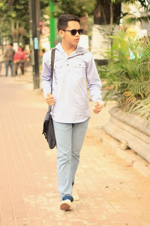 Lee Cooper jeans - Lafayette Collections bag - H&M sunglasses - Lee Cooper flats
