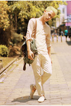 Lee Cooper bag - Lee Cooper flats - giordano top - Wrangler pants