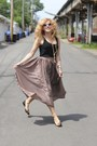 Rebecca-minkoff-bag-floral-blowfish-flats-american-apparel-skirt
