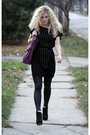 Black-rachel-rachel-roy-dress-black-american-apparel-leggings-black-steve-ma