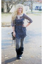 co urban 1972 dress - co wanted boots - Rebecca Minkoff bag