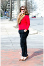 Leather-nine-west-shoes-cashmere-ann-taylor-sweater