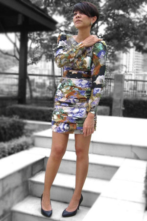 violet Mango dress