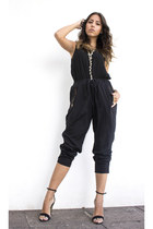 H&M pants - Zara blouse - Zara sandals