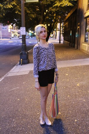 Urban Outfitters bag - American Apparel shorts - Call it Spring flats