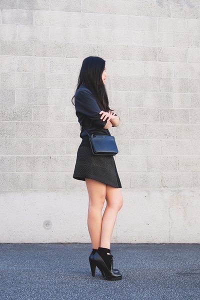 Zara skirt - Alexander Wang boots