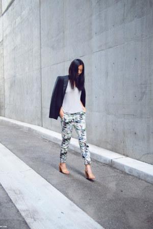 Zara pants - Alexander Wang shirt - 31 Phillip Lim sandals