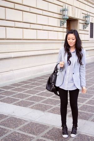 Zara blazer - ASH shoes