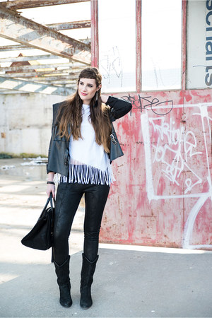 black Sacha boots