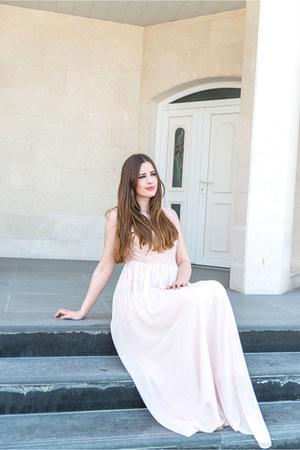 light pink Swing dress