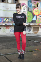 black romwe sweater