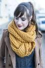 Blue-melvin-hamilton-boots-brown-h-m-coat-yellow-ernstings-family-scarf
