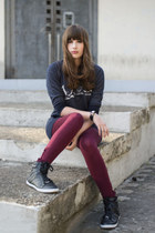 Brakeburn sweater - Primark leggings - TK Maxx sneakers