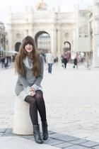The Grey Sweater Dress