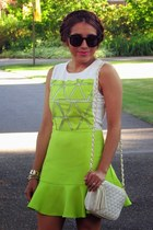 chartreuse Sheinside dress
