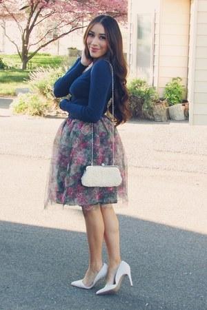 bubble gum Sheinside skirt