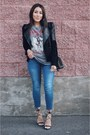 Black-motorcycle-jacket-heather-gray-forever-21-t-shirt-black-lace-up-heels