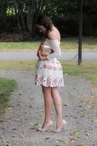 salmon Chicwish skirt