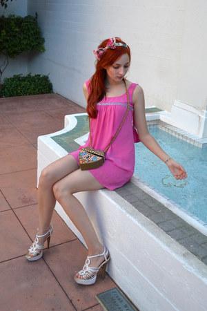 Johnny Martin dress - Qupid Luxe heels