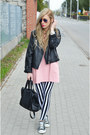 Dress-dress-striped-leggings