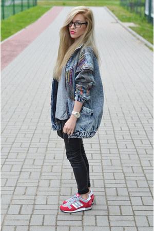 jacket - sneakers