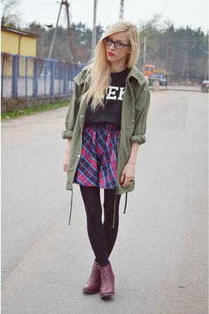boots - BangGood jacket - Choies t-shirt