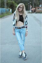 top - jeans - jacket