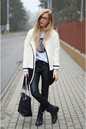 coat - sweater