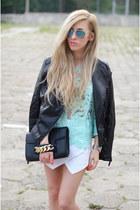 top - jacket - shorts