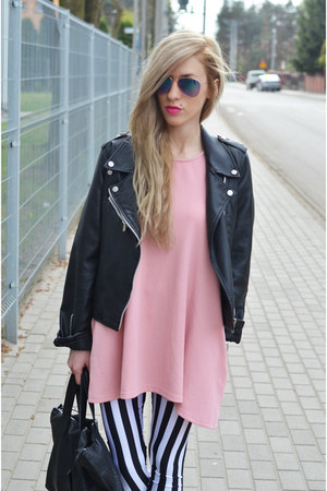 dress dress - striped leggings