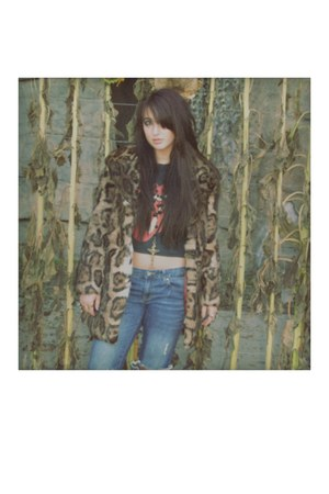 vintage jacket - vintage t-shirt