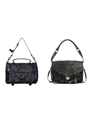 PROENZA SCHOULER bag - black asos bag