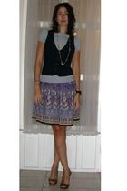 Target shirt - Target vest - skirt - shoes