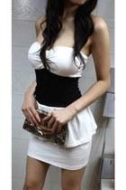dress - tawny purse