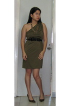 Be dress - from canada necklace - from a dress belt - janilyn shoes