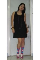 Mango dress - Charles & Keith shoes