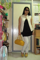 given by Twinster glasses - given by Twinster jacket - bench dress - Guess jeans