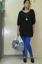 Gmall blouse - Fendi Spy Bag purse - Forever21 necklace