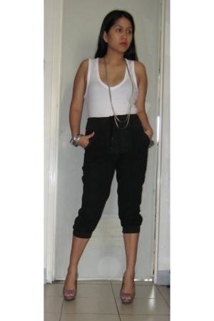 Zara blouse - SM pants - Zara shoes - Aldo necklace