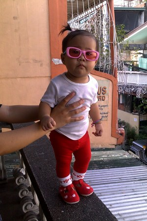 Pitter Pat shoes - picheco leggings - Barbie sunglasses