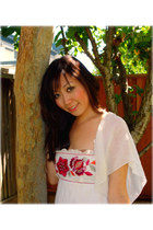 floral dress Bebe dress