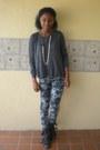 Charcoal-gray-allsaints-spitalfields-boots-navy-pacsun-jeans-black-jacket