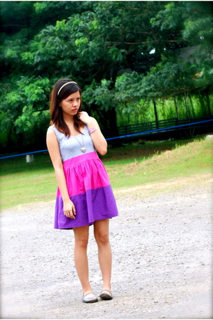 cinderella dress - Atmosphere - Tiendesitas necklace - Topshop - Kimi shoes