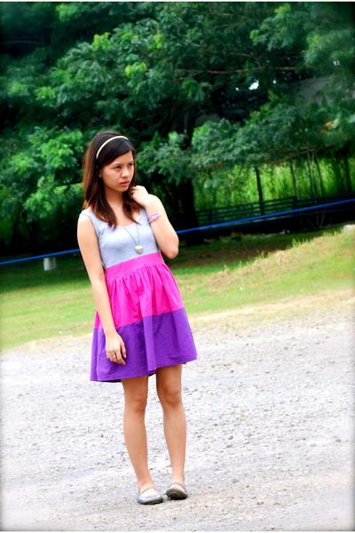 cinderella dress - Atmosphere - Tiendesitas necklace - Topshop - Kimi shoes