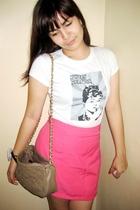 shirt - skirt - purse