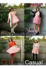 Pink-h-m-dress-black-brand-dress-bubble-gum-floral-dress-red-h-m-dress-b