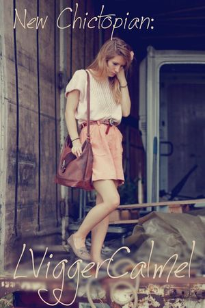 pink shorts - brown purse