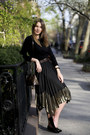 Black-uniqlo-sweater-black-river-island-skirt-black-charlotte-olympia-flats