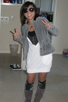 Steve Madden boots - Target socks - Urban Outfitters top - Old Navy top - delias