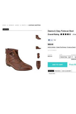 brown Urban Outfitters shoes